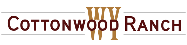 Cottonwood Ranch WY Logo