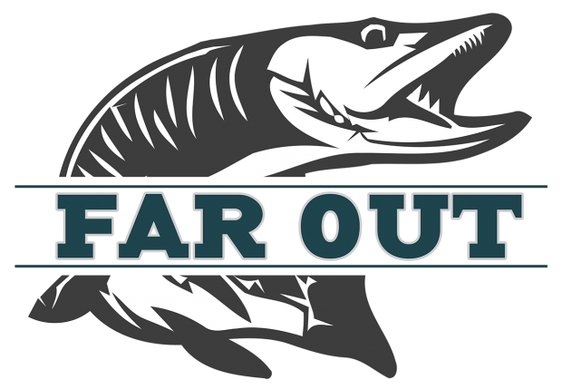 Far Out Fly Fishing Logo